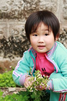 Free Little Girl Royalty Free Stock Photography - 8763437