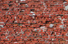 Free The Old Brick Wall. Royalty Free Stock Photo - 8763725