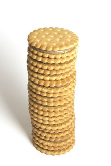 Free Cookie Tower Royalty Free Stock Photos - 8765278
