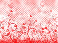 Free Red Ial Abstraction Royalty Free Stock Images - 8765589