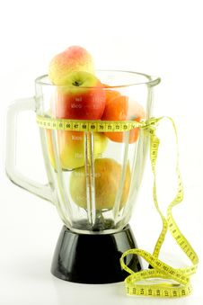 Free Fruits In Mixer Royalty Free Stock Photography - 8766187