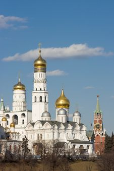 Free Church In Moscow Kremlin. Stock Image - 8766191