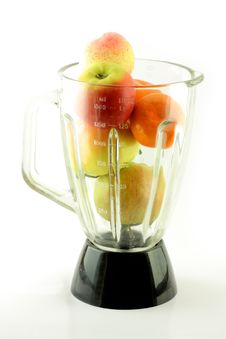 Free Fruits In Mixer Stock Images - 8766224