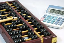 Free Abacus Royalty Free Stock Photo - 8766375