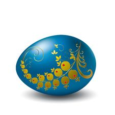 Free Easter  Eggs. Royalty Free Stock Photo - 8766665