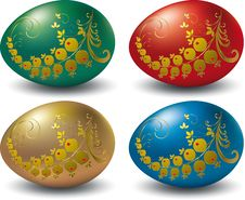 Free Easter  Eggs. Stock Images - 8767184