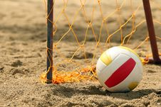 Free Goal And Ball Royalty Free Stock Photography - 8767547