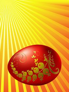 Free Easter  Eggs. Stock Photos - 8768633