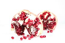 Free Pomegranate Macro Royalty Free Stock Photos - 8769888
