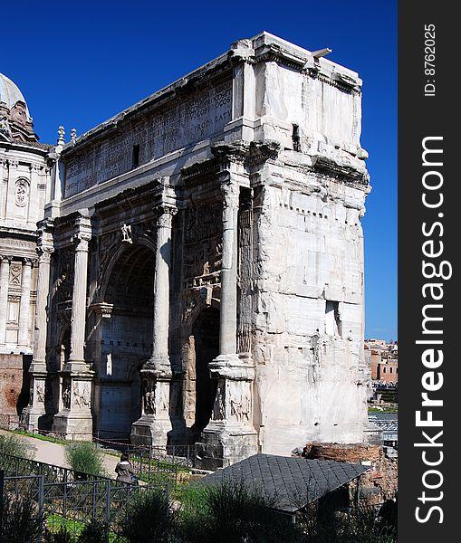 Arch of Septimius Severus (Rome)
