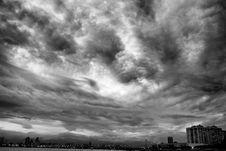Free Monochrome Skies Royalty Free Stock Photos - 87659268