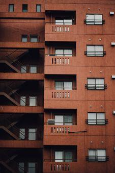 Free Exterior Of Modern Apartment Building Stock Photos - 87661143