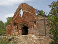 Free Old Destroyed Brick Building Stock Photos - 8772233
