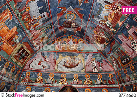 Frescoes Stock Photo