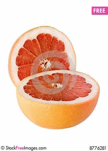 Free Two Halves Grapefruit Stock Image - 8776281