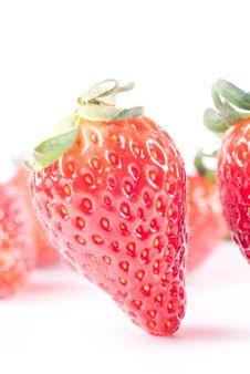 Free Strawberry Isolated On White Royalty Free Stock Photo - 8770375