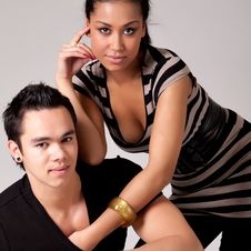 Free Feeling Good About My Indonesian Lover Royalty Free Stock Photo - 8770755