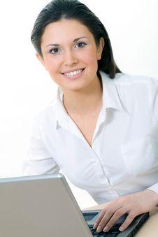 Free Beautiful Secretary Stock Image - 8771271