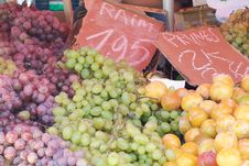 Free Grape And Fruit Royalty Free Stock Photography - 8771737