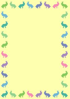 Free Bunny Background Royalty Free Stock Images - 8772189