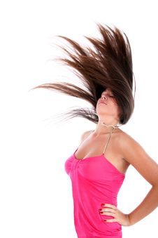 Free Flapping Hairs Stock Photo - 8772390
