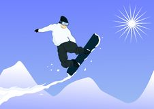 Free Snowboard Jump Stock Images - 8772474