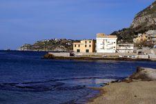 Free Aspra Panorama Gulf Royalty Free Stock Image - 8772556