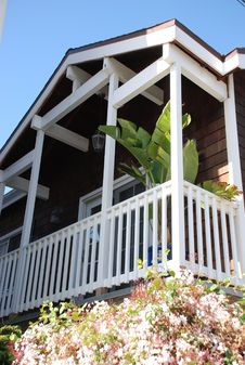 Free Wooden Balcony Stock Photography - 8772672
