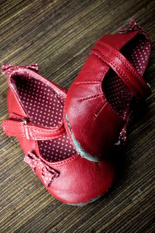 Free Worn Baby Shoes Stock Photography - 8774122