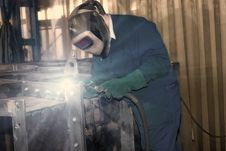 Free Welder At Work Royalty Free Stock Photography - 8774297