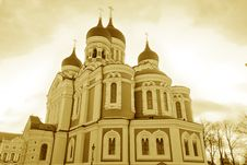 Free Alexander Nevsky S Orthodox Cathedral Stock Images - 8774434