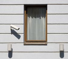 Free The Window With Lovelace Supervision System Royalty Free Stock Images - 8774629