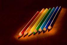 Free Colour Pencils Stock Photo - 8774950