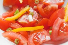 Free Tomato Salad Royalty Free Stock Image - 8775106
