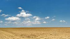 Free Plowed Field Stock Image - 8775111