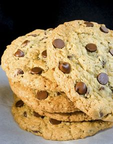 Free Chocolate Chip Cookie Stock Image - 8775221