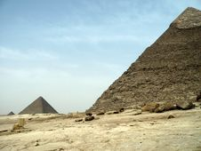 Free Giza Pyramids Stock Photography - 8775382