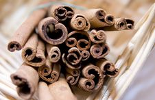 Free Cinnamon Sticks Stock Photography - 8775672