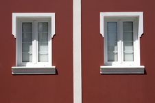 Portuguese Windows Royalty Free Stock Images