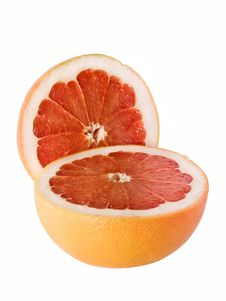 Free Two Halves Grapefruit Stock Image - 8776281