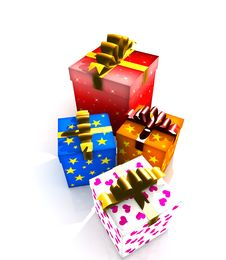 Free Gift Boxes Stock Image - 8778231