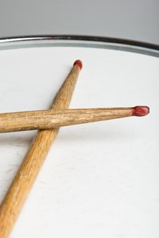 Drumsticks Royalty Free Stock Photography