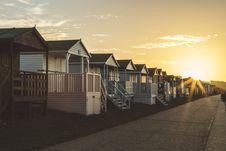 Free Brown White Wooden Lined Houses Stock Photo - 87719810