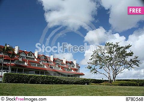 Sunny Resort Stock Photo