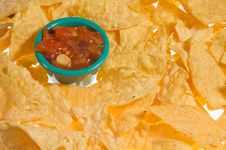 Free Chips And Salsa Stock Photos - 8780103