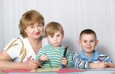Free Family Portrait Royalty Free Stock Photography - 8780257