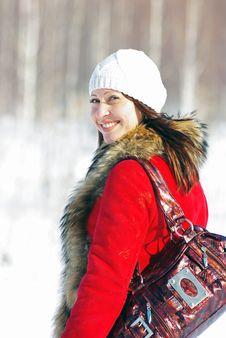 Free Pretty Winter Woman Royalty Free Stock Image - 8780296