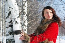 Free Pretty Winter Woman Royalty Free Stock Images - 8780299
