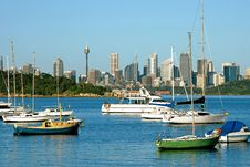Free City View With Yachts Stock Photo - 8781310