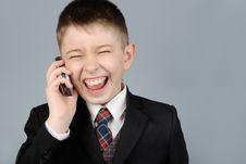 Free Laughing Boy Stock Image - 8781661
